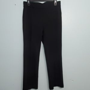 Chico's Black Straight Fit Pants